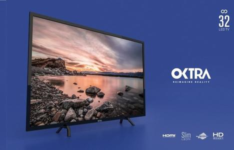 OKTRA HD READY LED TV 32 - BLACK