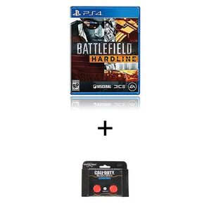 PS4 GAME Battlefield Hardline PLUS KONTROL FREEK