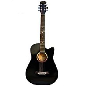 Victoria Victoria Semi Acoustic Guitar 39'' with 4 band EQ- Black