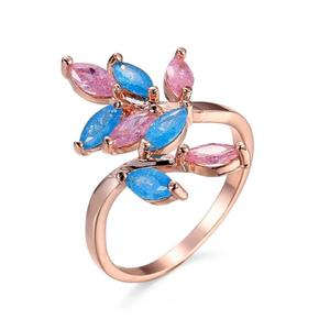 Gold Plated Floral Desing Antique Ring
