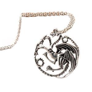 Game of Thrones Daenerys Targaryen Dragon Necklace Khalessi Pendant Chain