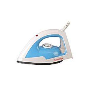 Cambridge ApplianceDI 7921 - Non-Stick soleplate, Medium Weight -Dry Iron - Blue & White