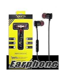 Pack Of Two Bluetooth Sports Hands-Free Magnetic Suction