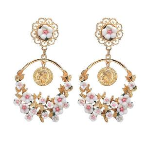 Fashion New Women Crystal Gold Silver Rhinestone Sterling Elegant Jewelry Hoop Earrings Piercing Plated Clip Nose Zircon Ear Ring Cuff Stud Hoop Earring
