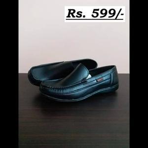 Special Black Cut Shoes