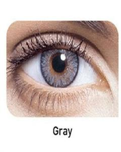 Gray Soft Contact Lenses With Kit