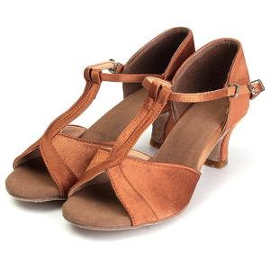 5cm Women Lady's Girl Ballroom Latin Tango Salsa Tango Dance Shoes Heeled Stilettos