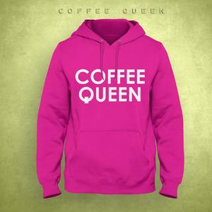 Coffee Queen Printed Hoodie For Both Men and Women
