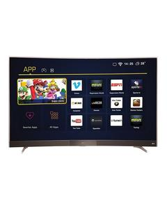 "P3 -  49"" Smart Curved Full HD LED TV - Black"