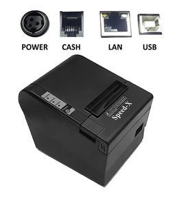Receipt Printer - Thermal - Useful for Retail Points - USB/LAN Input - (Model: X200 Plus)
