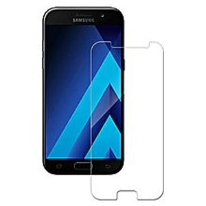 SamsungGalaxy A3 2017-16GB-2GB - Black  with Screen Protector and Back Cover