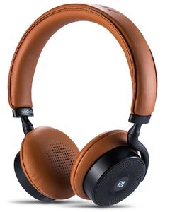 RB-300HB - Touch Control Bluetooth Stereo Headphone with HD Microphone - Brown