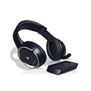 Sony Wireless Digital Stereo Headset for PlayStation - Black