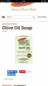 Palmer Olive oil soap