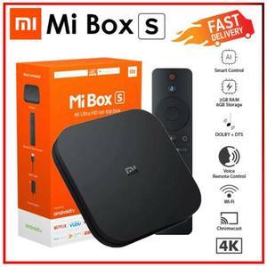 Android Mi Tv Box S 4K smart Tv 2GB + 8GB