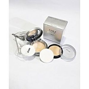 Etude Etude Twin Cake Face Powder Foundation Base With Refill Pack BE.01