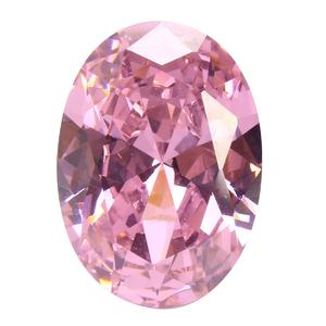 AAA Pale Pink Sapphire Gems Oval Faceted Cut 4.26ct VVS Loose Gemstone 5 Sizes [8*10]