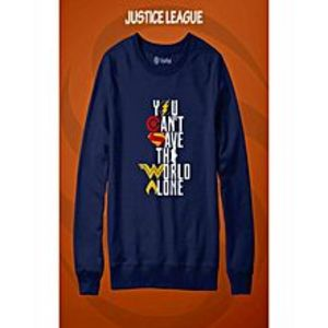 Marhaba Mart Justice League Printed Sweatshirt Shirt For Men