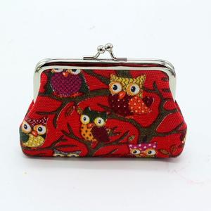 Women Lovely Style Lady Small Wallet Hasp Owl Purse Clutch Bag BG