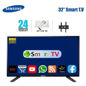 Samsung UHD LED flat smart tv 32 inch MU5300 with all android features and 32 gb free usb and free wall mount and 2 years all pakistan warranty