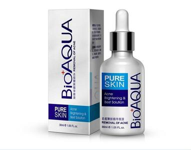 BIOAQUA Pure Skin acne removal,skin care essence, brightening, moisturizing and oil-control serum