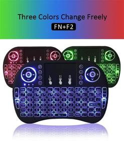 RF-500 2.4GHz Most Mini Wireless Keyboard Mouse Combo 3.3V  Built-In Rechargeable Lithium Battery For Tv Box Laptop/ Wireless Mini Touchpad RF-500 - Keyboard Mouse With 3  Backlit Colours for Smart Tv,Xbox,Playstation,Android  Tv Box and PC Devices -