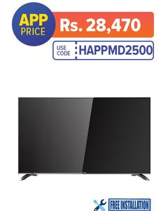 Full HD LED TV - 40'' - Black