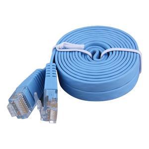EF 2M Length Flat Reticle RJ45 CAT6 8P8C Ethernet Patch Network Cable Lan