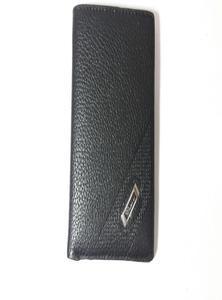 Black Leather Book Shape Wallet for Men