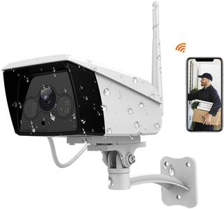 Ebitcam WiFI Outdoor IP Camera 1080P HD, Waterproof, Super Night Vision, Motion Detection Alarm with Two Way Audio