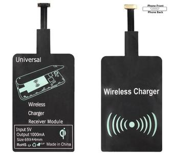 For Samsung HUAWEI XIAOMI Car Charger Android Micro USB Type C QI Wireless Charger Receiver Adapter Coil For Phone Type A and B