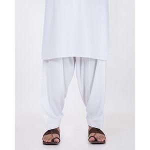 White Pc Mens Shalwar-116