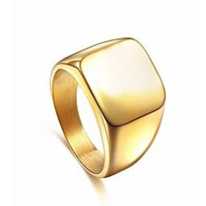 Imported 24K Gold plated Stainless Steel Ring for Men