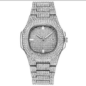 GIORGIO LUXUS 18KT White Gold Plated Watch