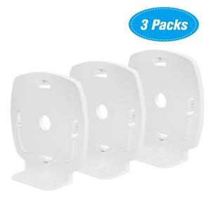 Wall Mount Bracket Holder Stand for Linksys Velop Dual-Band WiFi Router Protective Holder Bracket Stand,White(3 Packs)