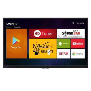 "-AKIRA Singapore 39MS1303 39"" Android Full HD LED TV with Built-in Satellite Receiver & HD Tuner - Black"