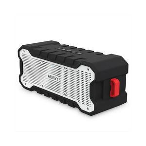 AUKEY Rugged Waterproof Bluetooth Speaker with 30 Hours Battery Life - SK - M12