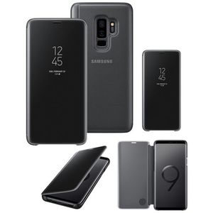 Original Samsung S9+/ Samsung Galaxy S9 Plus Clear View Cover Case/ Smart Cover - Black