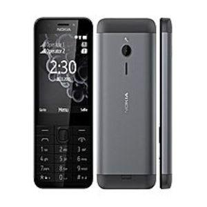 """NokiaNokia 230 - Dual Sim - 2.8"""" - Flash Camera - Dark Silver"""