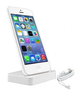 Charging Dock with Free USB Cable  For iPhone 5 / iPhone 5S / iPhone 5C - White
