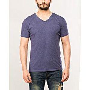 DenizenBlue Cotton T-Shirt for Men