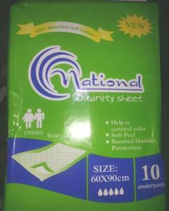 Patient Bed Sheets high absorbent high quality