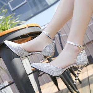 Women's Fashion Pointed Dress Pumps  Stiletto Heels Summer Sandals Comfortable