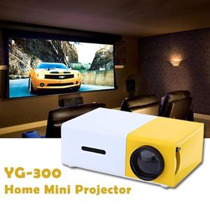Yg300 Lcd Portable Projector For Video Games Home Theatre (S)