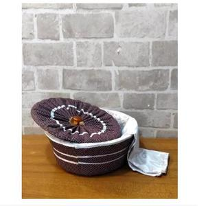 3 Piece Roti Hot Pot Basket - Multi Designs