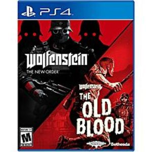 Sony Wolfenstein The New Order and The Old Blood Double Pack PS4