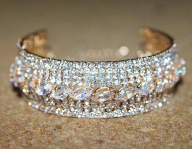 Get 1 Free Metal Ring With Women Vintage Gold Plated Bracelet Bangle Adjustable Kara Opening Bangle Jewellery