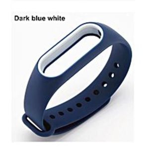 MoboPro Strap For Mi Band 2 - Special Edition - Blue & White