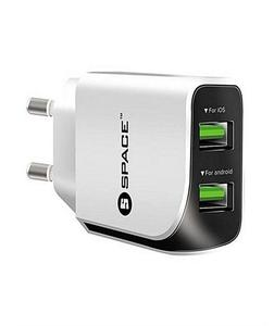 Dual Port Usb Wall Charger Model Wc-111