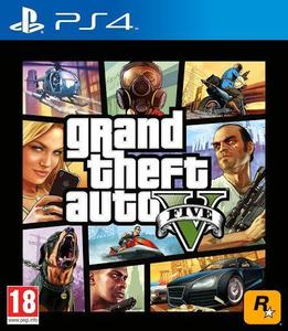 PLAYSTATION 4 DVD GTA V PS4 GAME